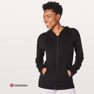 LULULEMON Black Hoodie Wake Up & Go Sweater